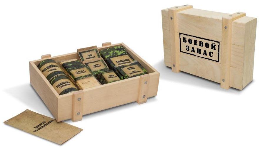 Подарочный набор Боевой запас