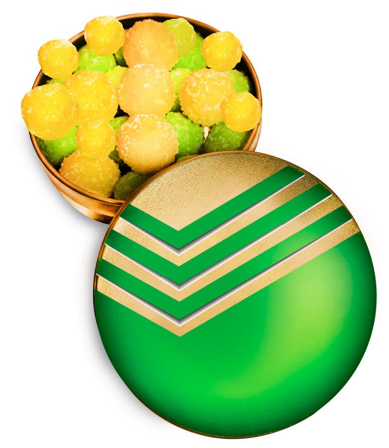 Монпансье или фруктовое драже в жестяных коробочках