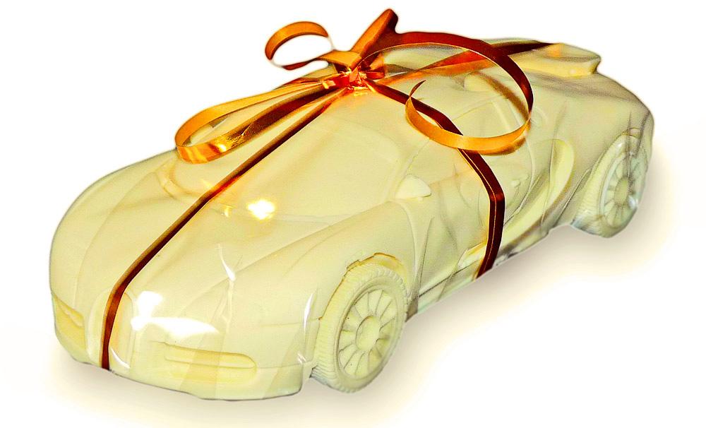 Шоколад в форме авто