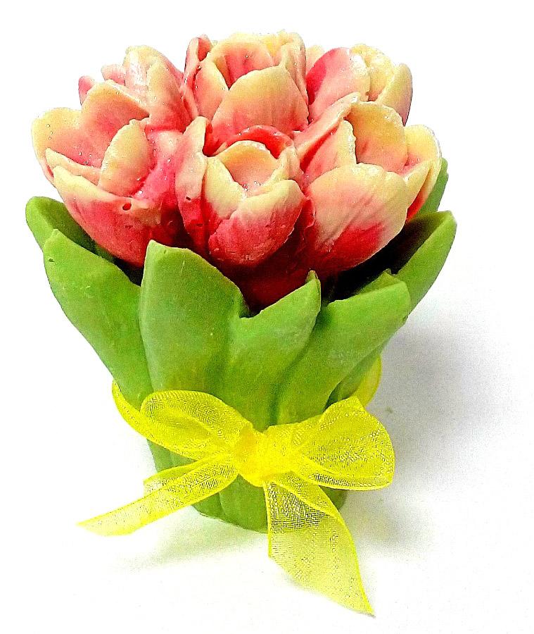 Шоколадные цветы с логотипом