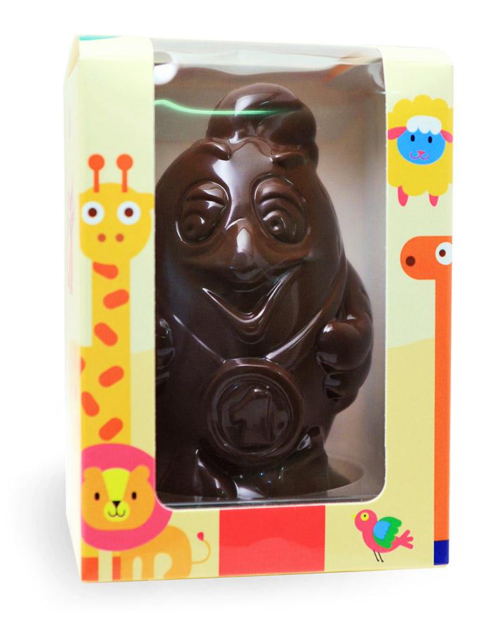 Шоколадные фигурки в виде символа года 2017
