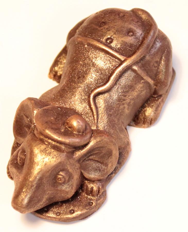 Фигурки крыс и мышей из шоколада