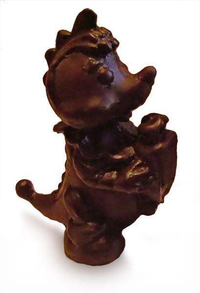 Шоколадный дракончик к Новому году 2012