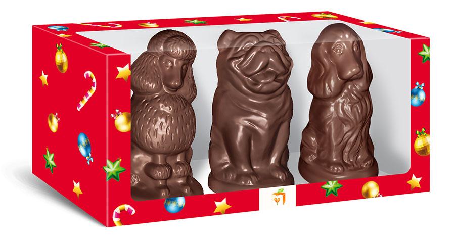 Шоколадные собачки