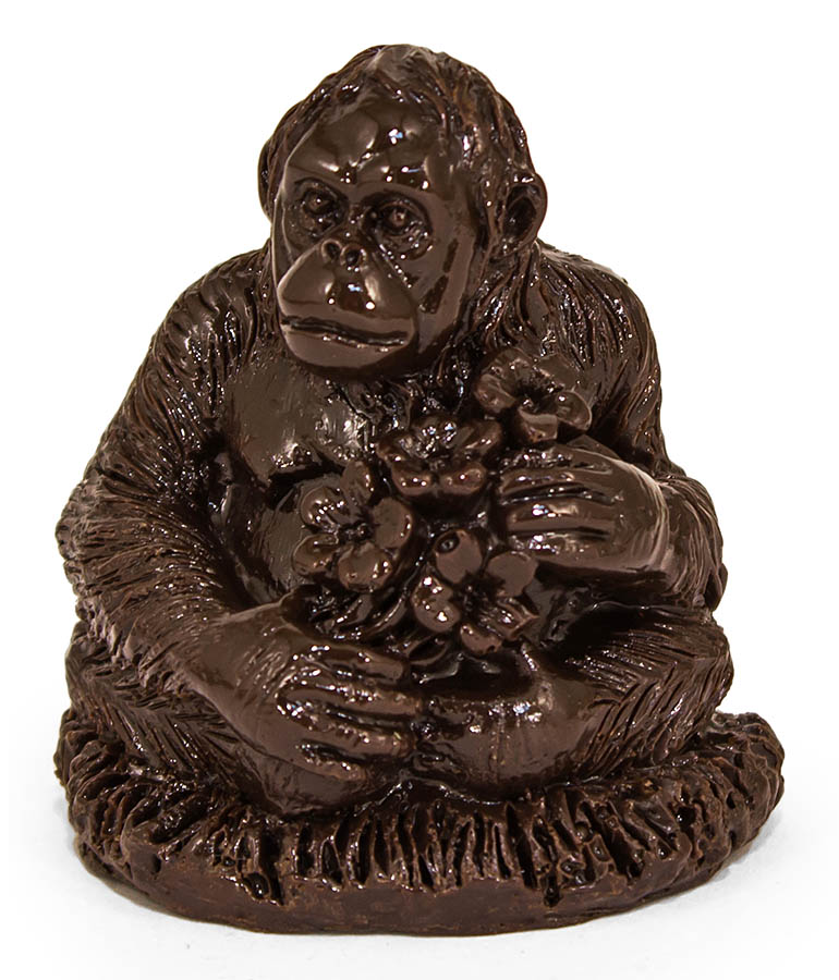 Обезьянка из шоколадной глазури 100 гр.