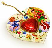 Шоколадное сердечко
