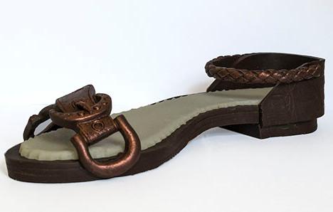 Шоколадные фигурки – туфельки