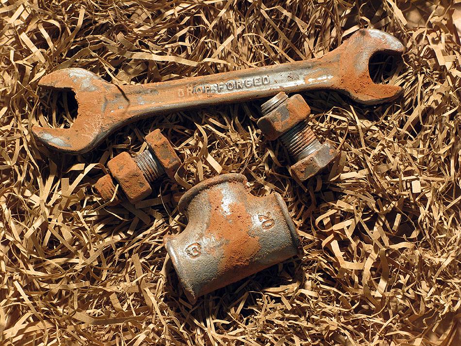 Шоколадные инструменты - гаечный ключ