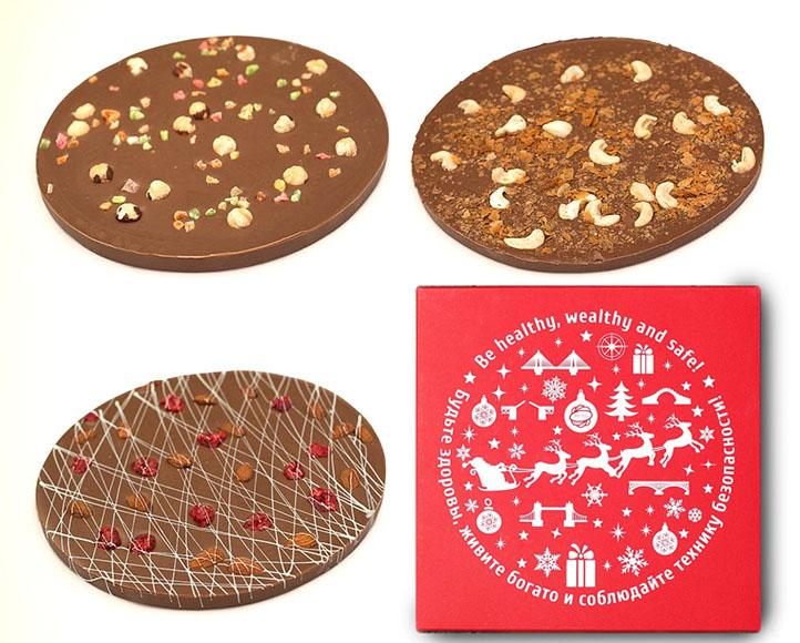Шоколадная пицца