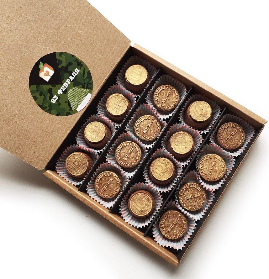 Подарочный набор из 16 конфет