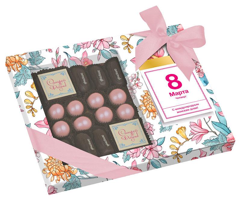 Набор конфет на 8 Марта
