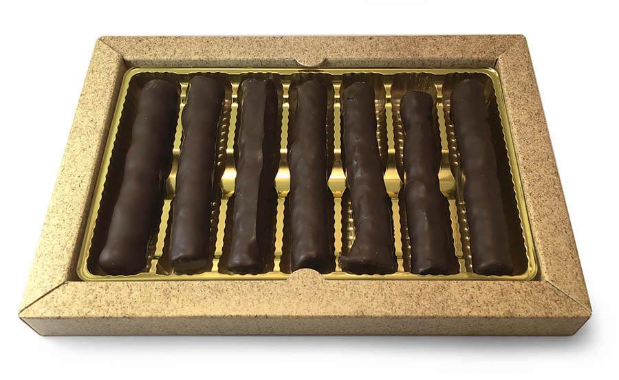 Фруктово-ореховые палочки в глазури с логотипом