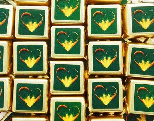 Конфеты Соланж с логотипом