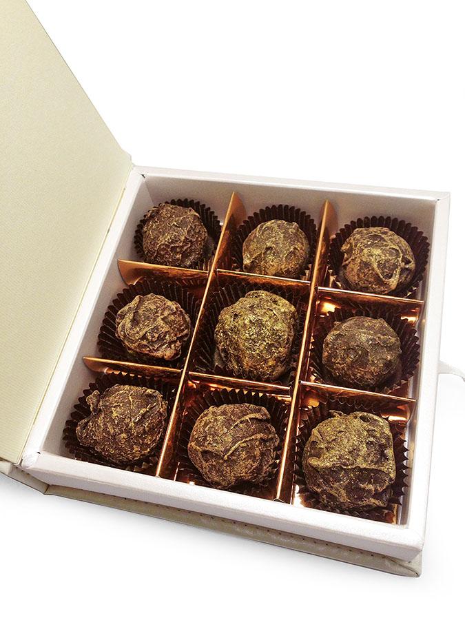 Золотые конфеты ручной работы