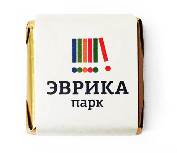 Шоколад с логотипом 10 г