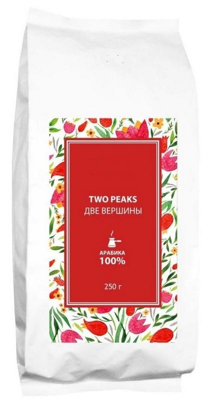Кофе в пакетах из фольгированного картона с логотипом