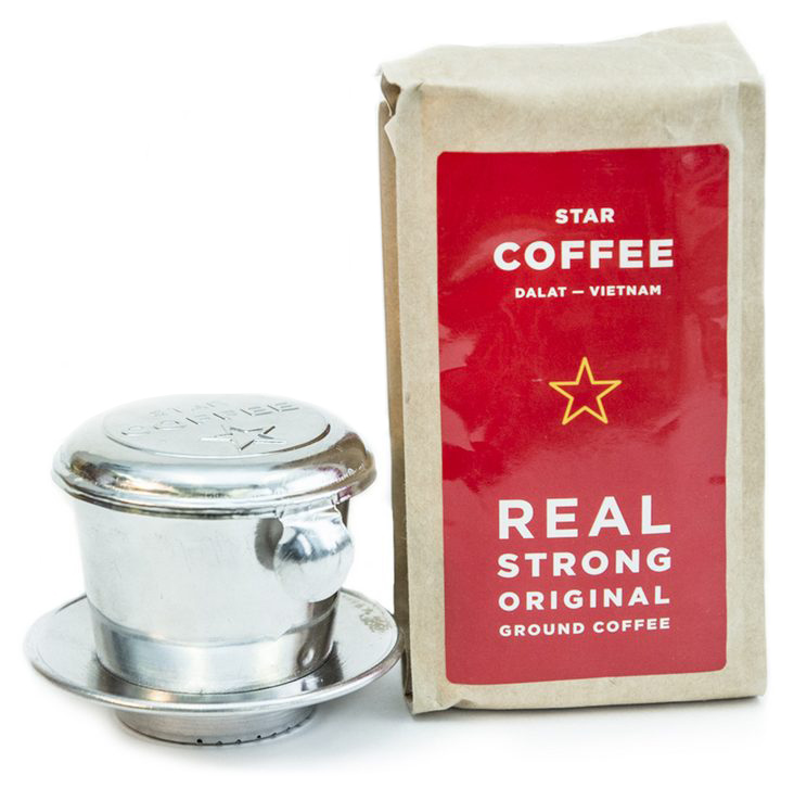 Кофе из Вьетнама с логотипом