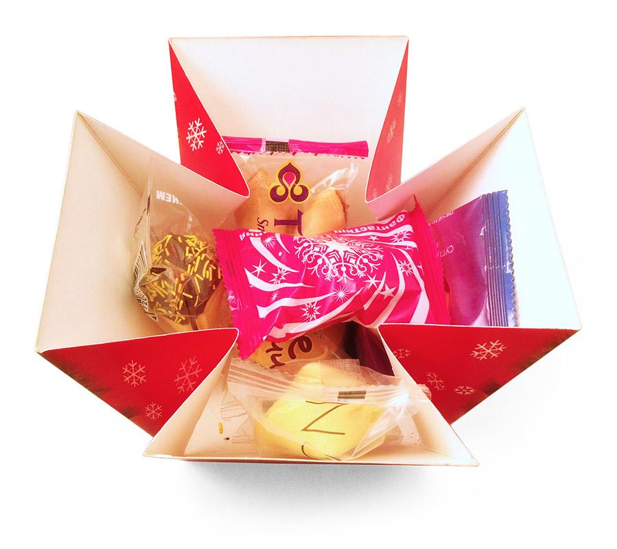 Печенье с предсказаниями в коробочке