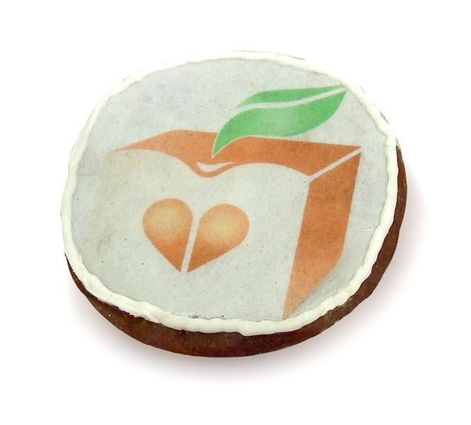 Печенье с логотипом, пряник