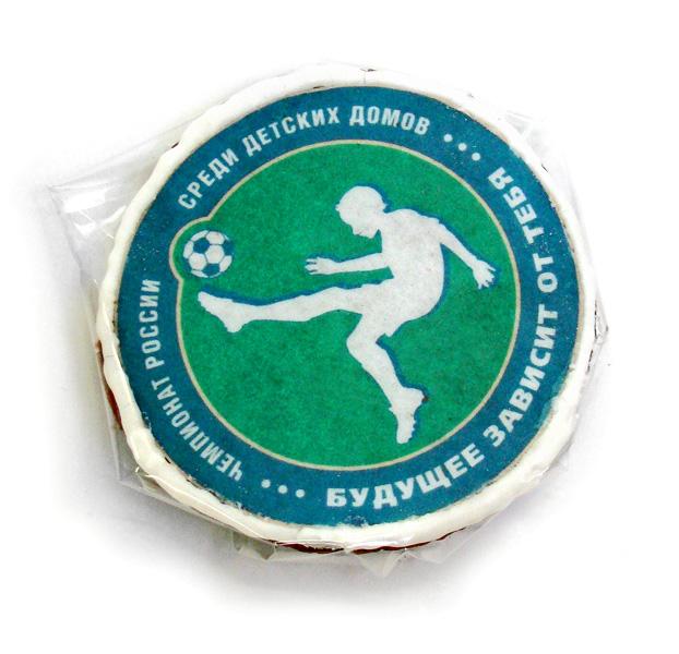 Рекламное печенье с картинкой