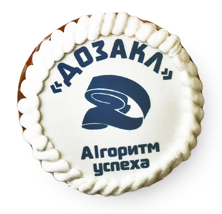 Печенье с логотипом