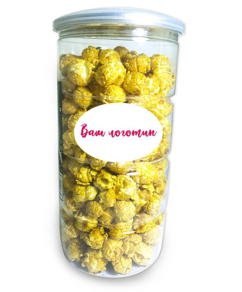 Попкорн в стаканчиках с логотипом для мероприятий и праздников