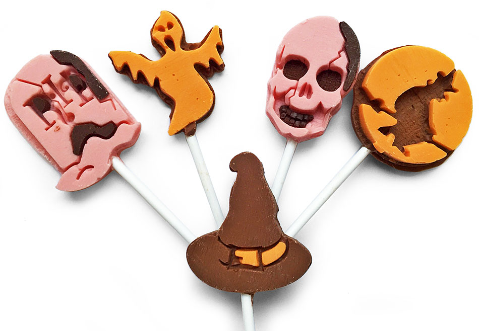 Подарок на Хэллоуин, конфеты с логотипом