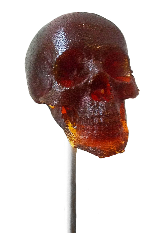 3D-черепа на палочке