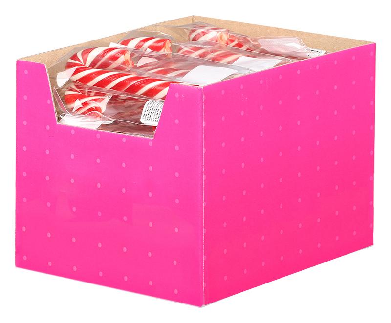 Леденцы на палочке - трость 15 г в коробке