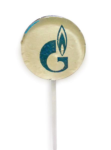 Леденец на палочке Газпром