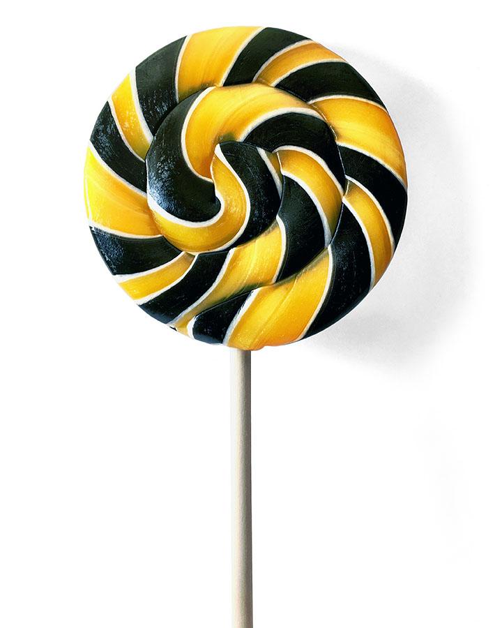 Спиральные леденцы с логотипом Билайн