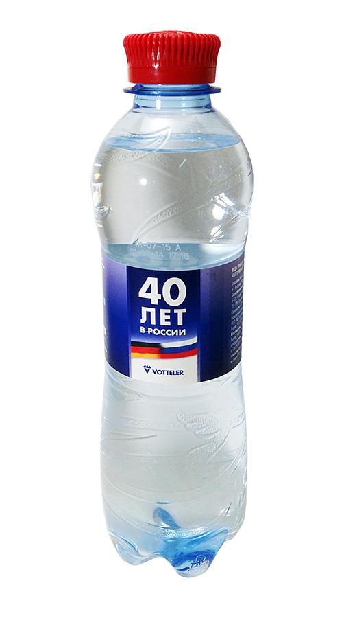 Вода с персонализацией