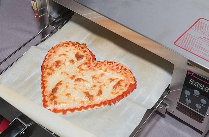 В Америке изобрели 3D-принтер для печати пиццы с персонализацией