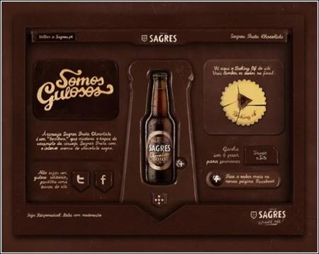 Шоколадный сайт для пива с шоколадным вкусом