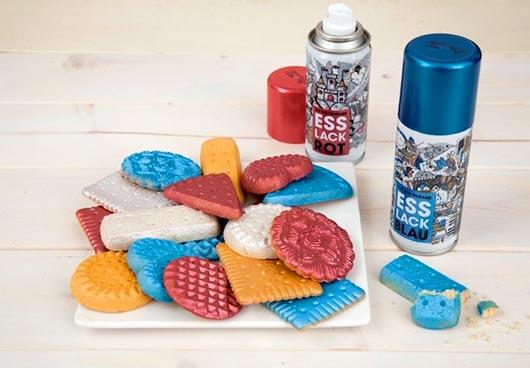 Съедобная спрей-краска от The Deli Garage Food Cooperative