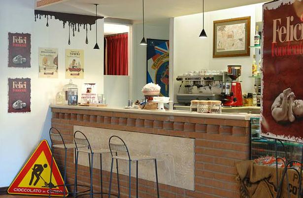 Шоколадный отель в Перудже