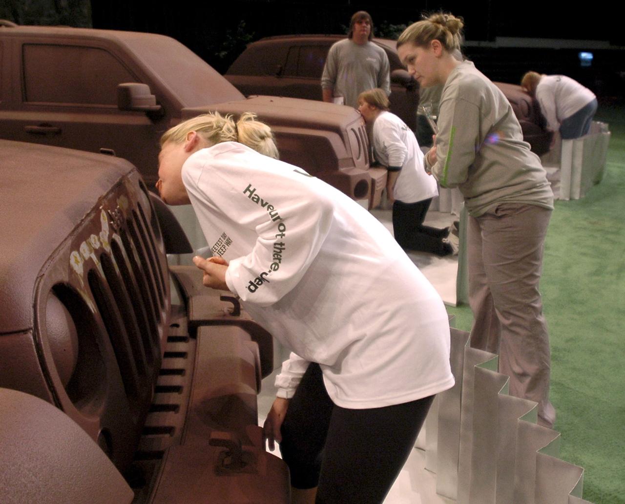 Джип в шоколаде – оригинальная PR-акция от Chrysler