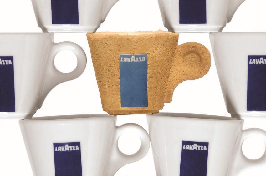 Съедобная чашка для кофе