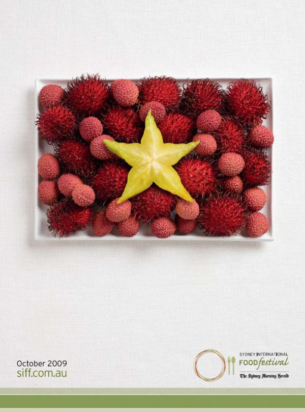 Аппетитная реклама - флаги из национальных продуктов. Вьетнам