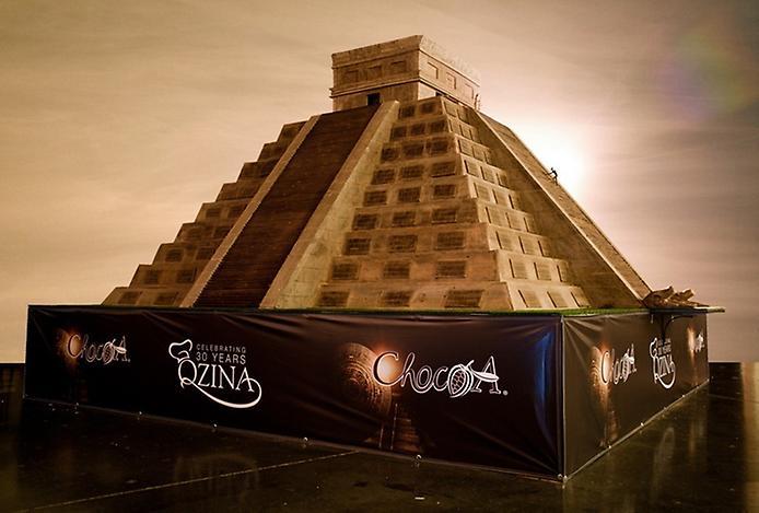 Самая большая шоколадная фигура - к концу света