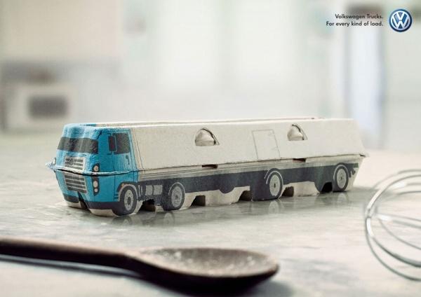 Реклама грузовиков Volkswagen