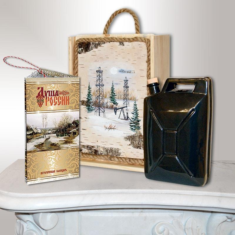 Подарочный набор Сибирь. Нефть