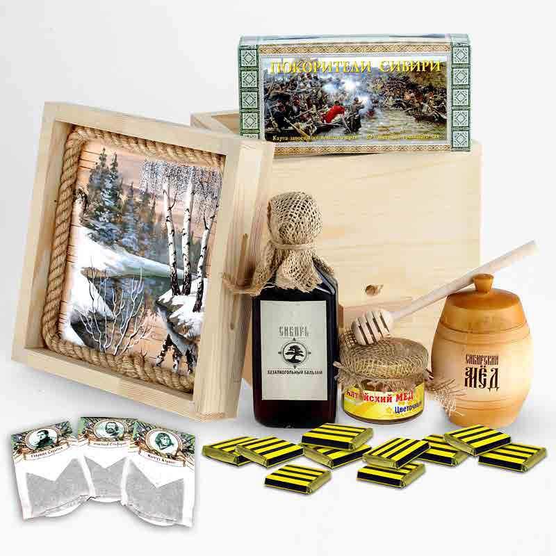 Подарочные наборы бальзамов, чая, ягод для женщин