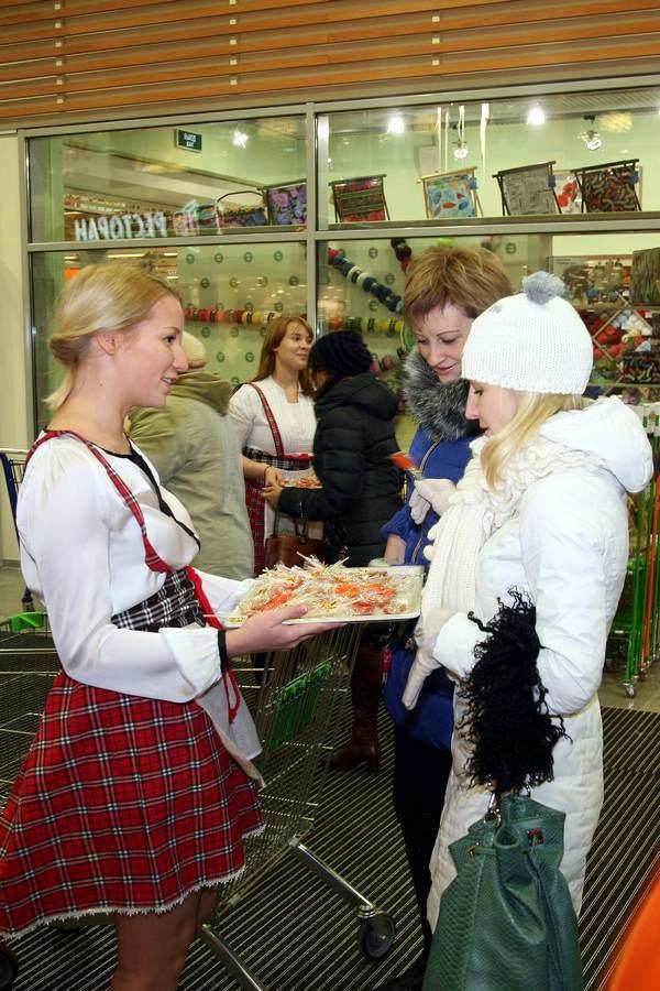 Открытие Гипермаркета Глобус в Пушкино
