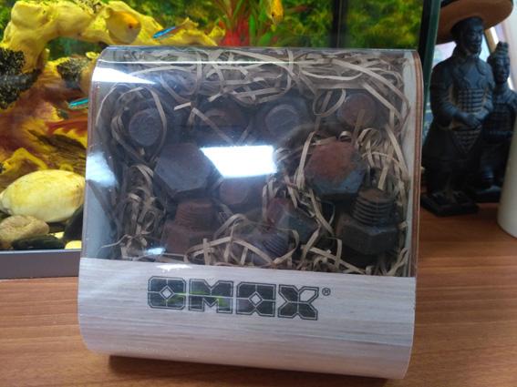 Подарочный набор шоколадных фигур для ОМАКС Групп