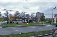 Смотреть фото с Панорам Яндекс. При движении в центр