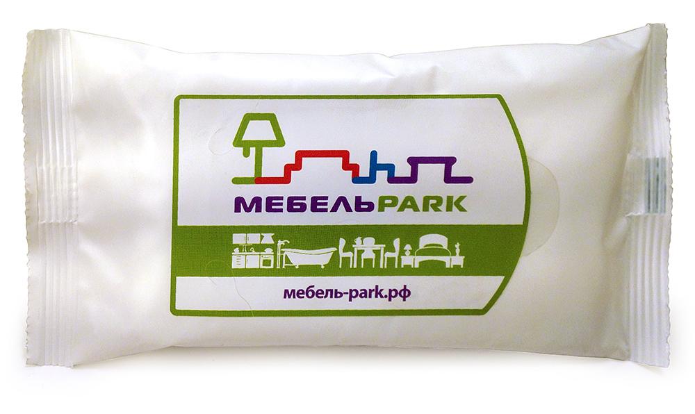 Рекламные салфетки в пачке с логотипом