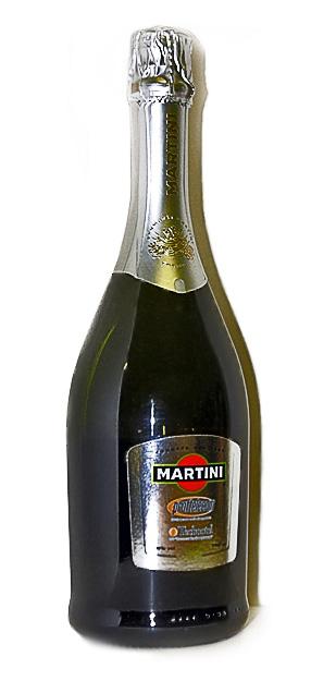 Мартини Асти - шампанское с логотипом