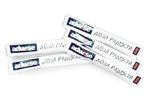 Порционный сахар – сахарные стики с логотипом