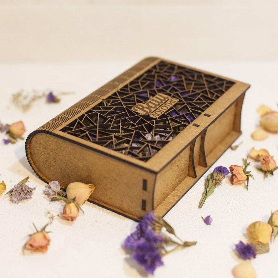 Коробочка-книга под чай или кофе